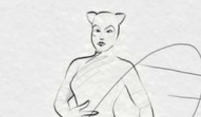 catwoman - test_pencil